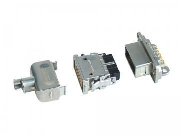 ASR-Steckverbinder - Standard- und Leiterplattenversionen